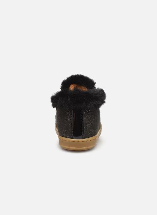 Boots en enkellaarsjes Shoo Pom Bouba Hair Zwart rechts