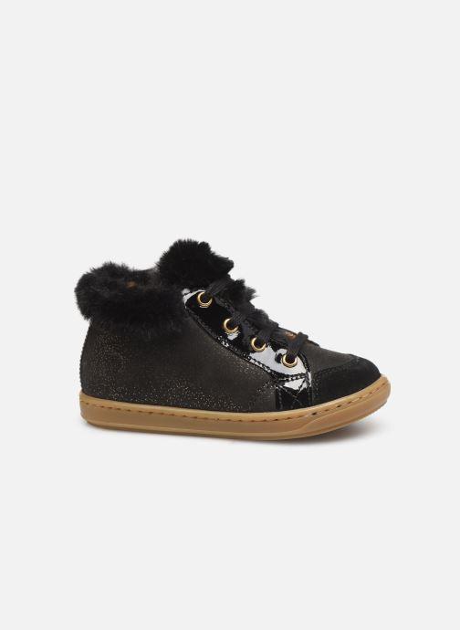 Boots en enkellaarsjes Shoo Pom Bouba Hair Zwart achterkant