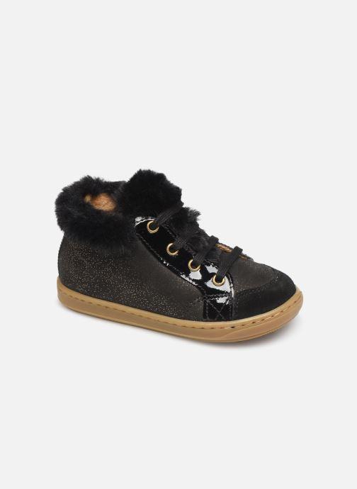 Boots en enkellaarsjes Shoo Pom Bouba Hair Zwart detail