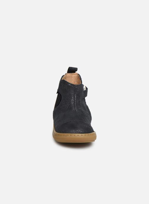 Bottines et boots Shoo Pom Bouba New Apple Bleu vue portées chaussures