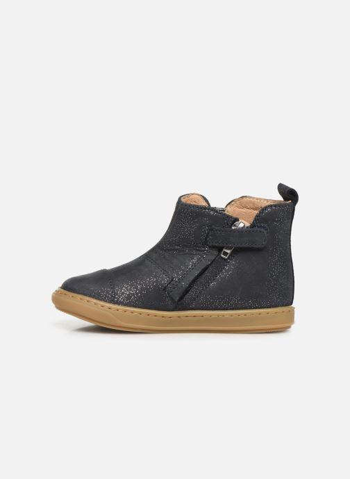 Bottines et boots Shoo Pom Bouba New Apple Bleu vue face