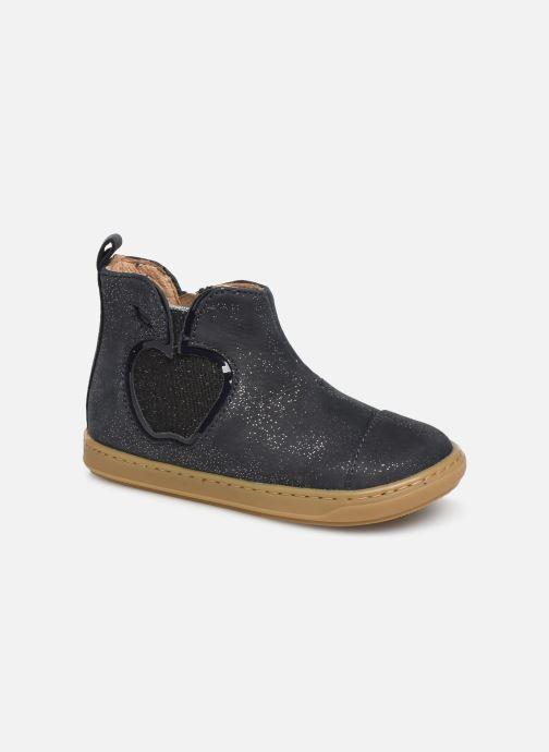 Bottines et boots Shoo Pom Bouba New Apple Bleu vue détail/paire