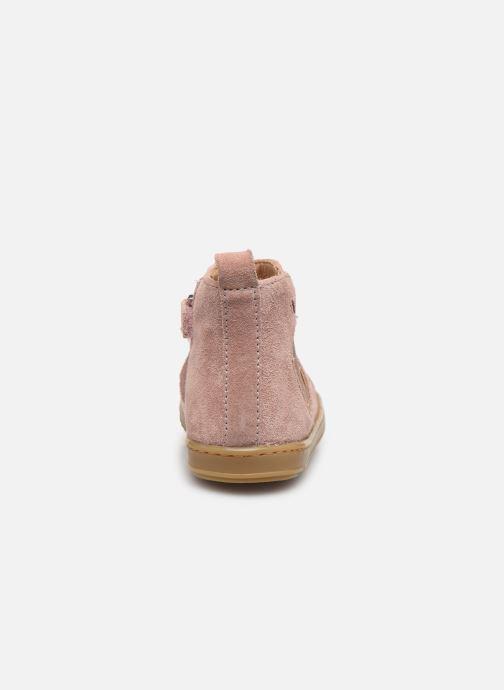 Bottines et boots Shoo Pom Bouba New Apple Rose vue droite