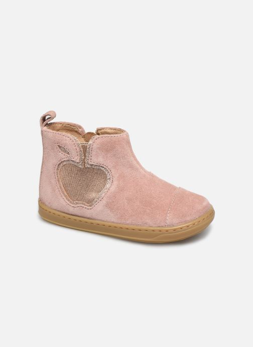 Bottines et boots Shoo Pom Bouba New Apple Rose vue détail/paire