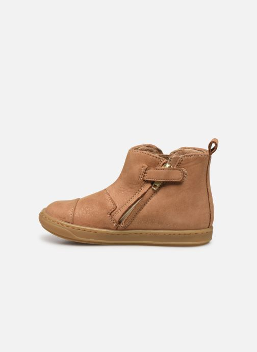Bottines et boots Shoo Pom Bouba New Apple Marron vue face