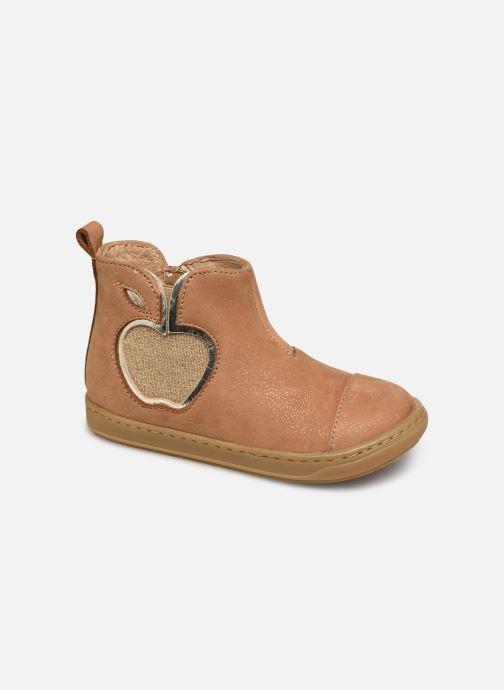 Bottines et boots Shoo Pom Bouba New Apple Marron vue détail/paire