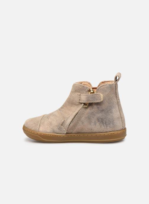 Bottines et boots Shoo Pom Bouba New Apple Or et bronze vue face
