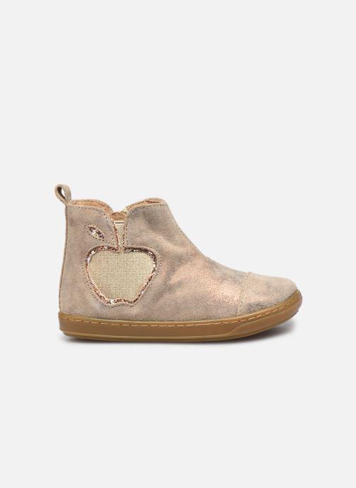 Bottines et boots Shoo Pom Bouba New Apple Or et bronze vue derrière