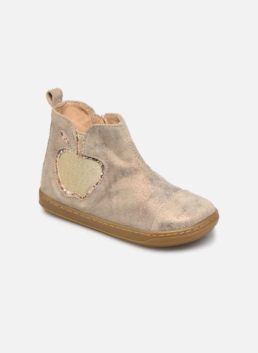Bottines et boots Shoo Pom Bouba New Apple Or et bronze vue détail/paire