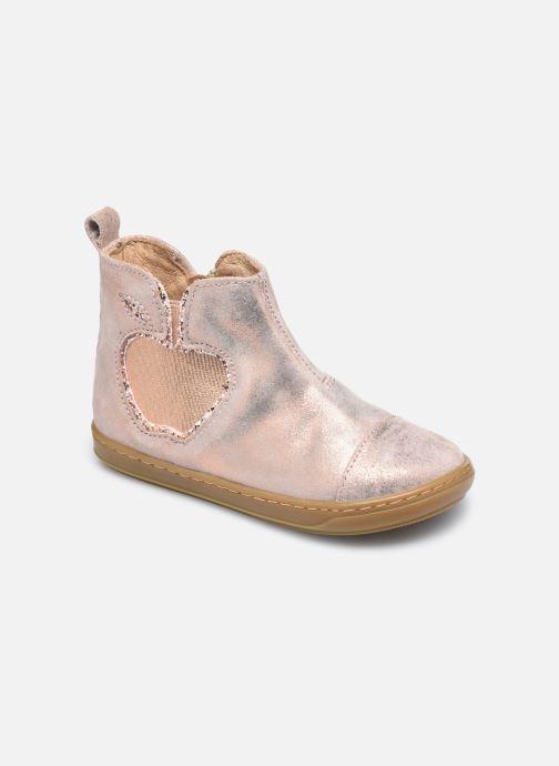 Bottines et boots Shoo Pom Bouba New Apple Rose vue détail/paire