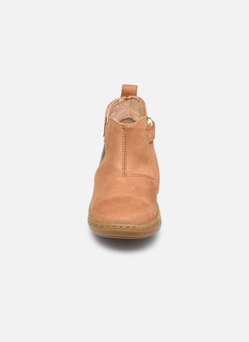 Bottines et boots Shoo Pom Bouba New Apple Marron vue portées chaussures