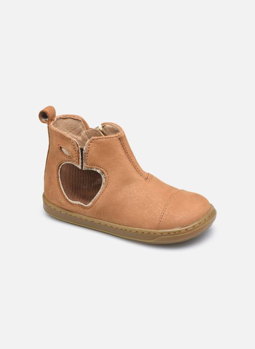 Bottines et boots Shoo Pom Bouba New Apple Marron vue détail/paire