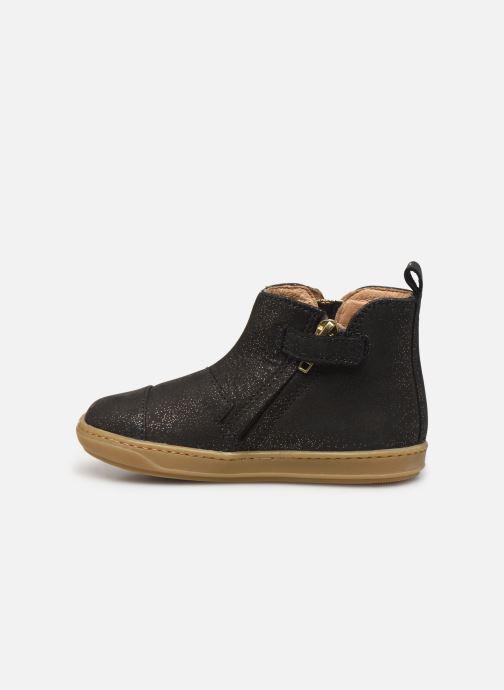 Boots en enkellaarsjes Shoo Pom Bouba New Apple SZ Zwart voorkant