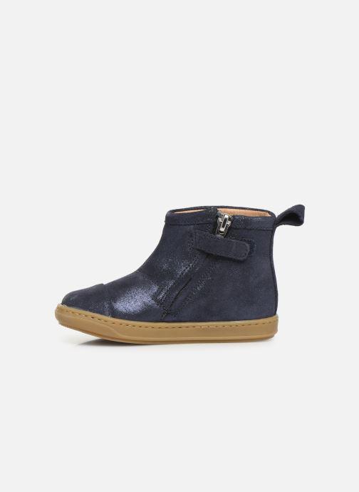 Bottines et boots Shoo Pom Bouba Halley Bleu vue face