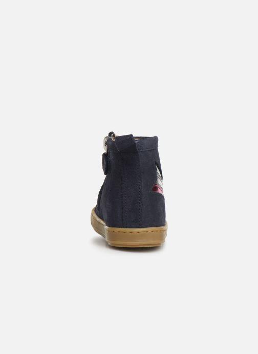 Boots en enkellaarsjes Shoo Pom Bouba Halley Blauw rechts