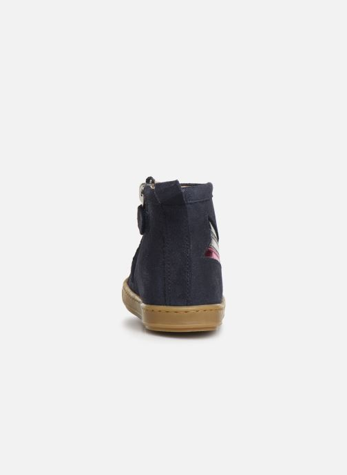 Bottines et boots Shoo Pom Bouba Halley Bleu vue droite