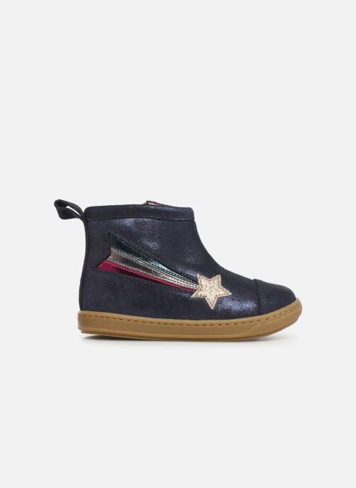 Bottines et boots Shoo Pom Bouba Halley Bleu vue derrière