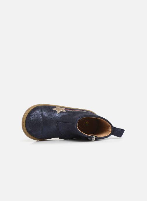 Bottines et boots Shoo Pom Bouba Halley Bleu vue gauche