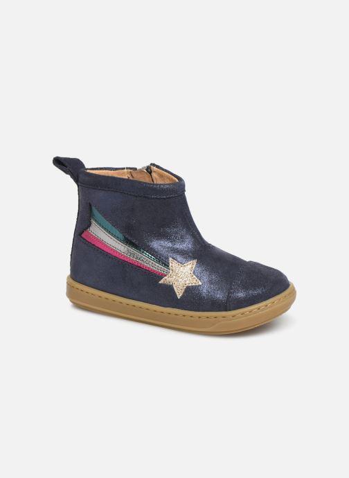Bottines et boots Shoo Pom Bouba Halley Bleu vue détail/paire