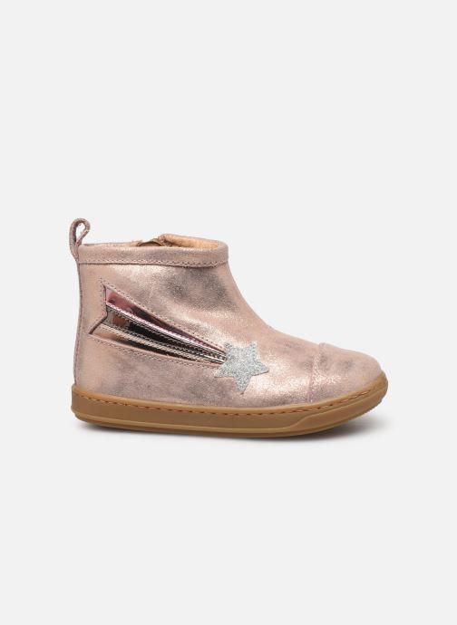 Bottines et boots Shoo Pom Bouba Halley Rose vue derrière