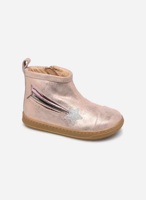 Bottines et boots Shoo Pom Bouba Halley Rose vue détail/paire