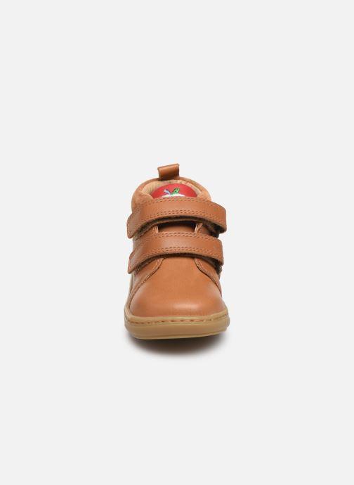 Bottines et boots Shoo Pom Bouba Boy Marron vue portées chaussures