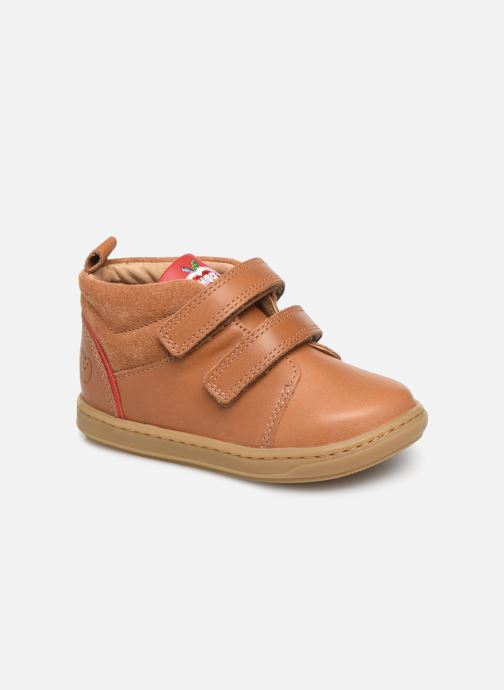 Bottines et boots Shoo Pom Bouba Boy Marron vue détail/paire