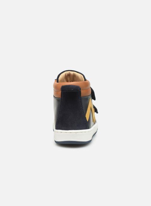 Sneaker Shoo Pom Dude Scratch blau ansicht von rechts