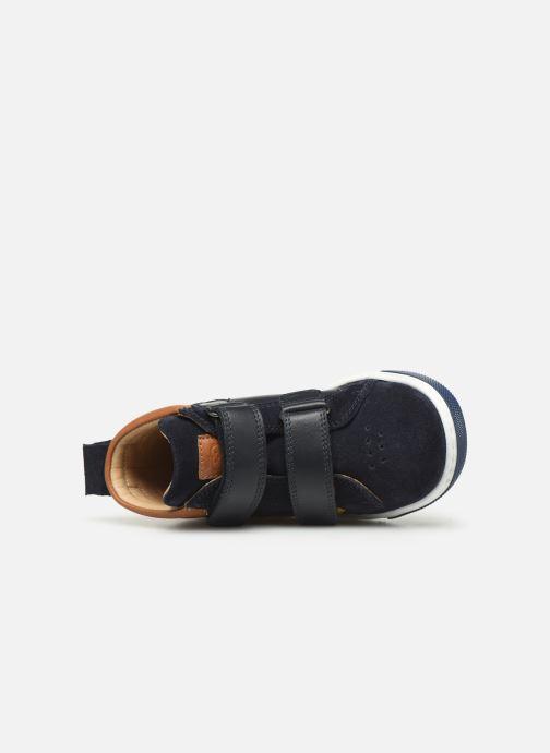 Sneaker Shoo Pom Dude Scratch blau ansicht von links