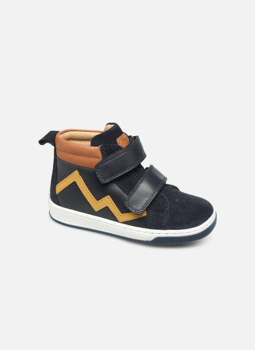 Sneakers Shoo Pom Dude Scratch Azzurro vedi dettaglio/paio