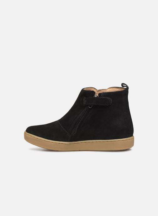 Bottines et boots Shoo Pom Play Apple Noir vue face