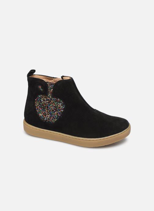 Bottines et boots Shoo Pom Play Apple Noir vue détail/paire