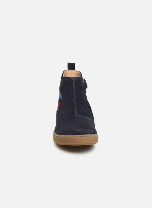 Bottines et boots Shoo Pom Play Apple Bleu vue portées chaussures