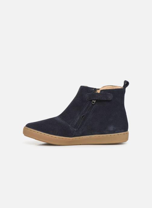 Bottines et boots Shoo Pom Play Apple Bleu vue face