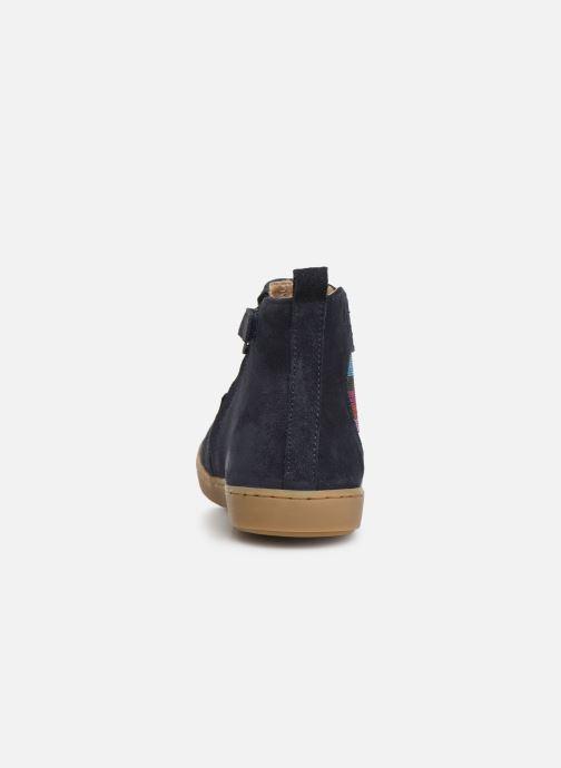Bottines et boots Shoo Pom Play Apple Bleu vue droite