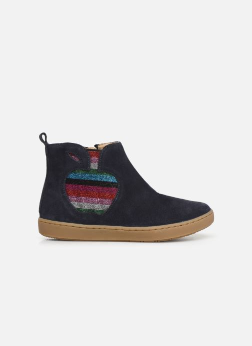 Bottines et boots Shoo Pom Play Apple Bleu vue derrière