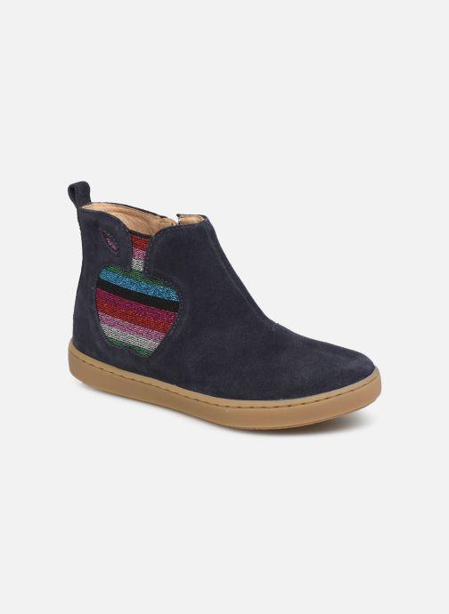 Bottines et boots Shoo Pom Play Apple Bleu vue détail/paire