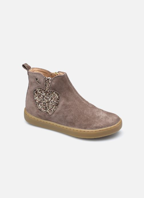 Bottines et boots Shoo Pom Play Apple Marron vue détail/paire