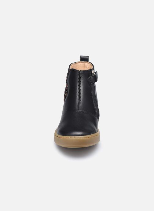 Bottines et boots Shoo Pom Play Apple Noir vue portées chaussures