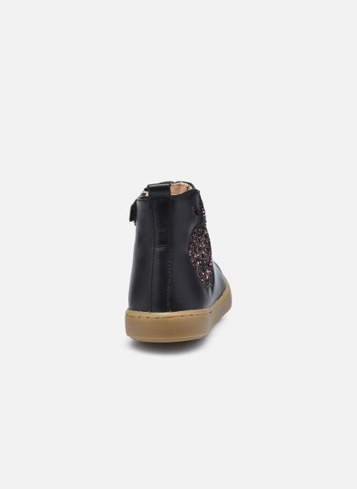 Bottines et boots Shoo Pom Play Apple Noir vue droite