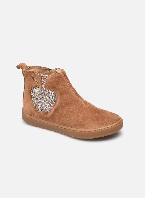 Bottines et boots Shoo Pom Play Apple Marron vue détail/paire