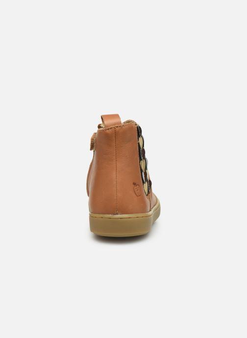 Bottines et boots Shoo Pom Play Jod Heart Marron vue droite