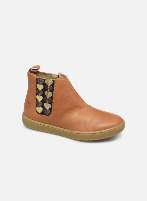 Boots en enkellaarsjes Shoo Pom Play Jod Heart Bruin detail