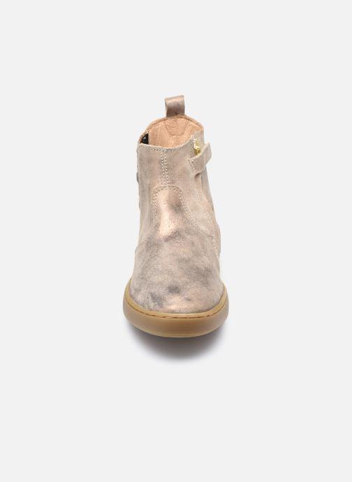 Stiefeletten & Boots Shoo Pom Play Jod Heart lila schuhe getragen