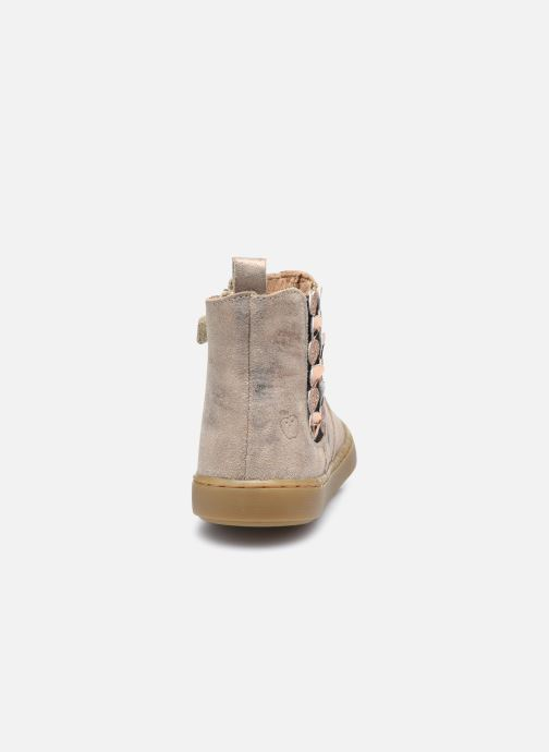 Bottines et boots Shoo Pom Play Jod Heart Violet vue droite