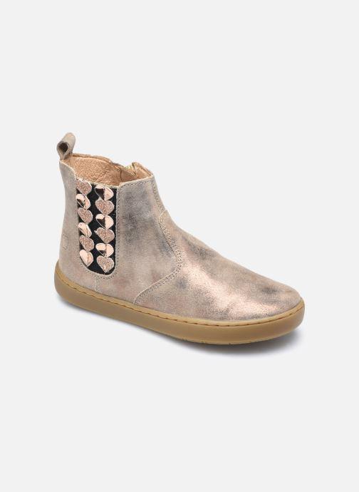 Bottines et boots Shoo Pom Play Jod Heart Violet vue détail/paire