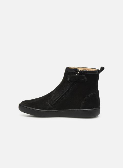 Bottines et boots Shoo Pom Play Halley Noir vue face