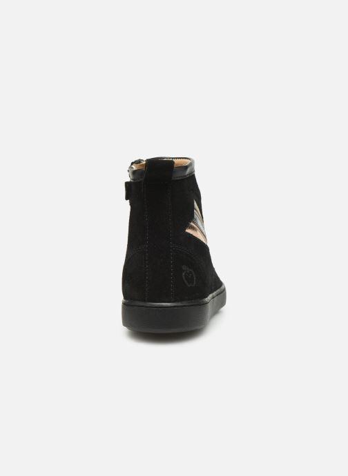 Bottines et boots Shoo Pom Play Halley Noir vue droite