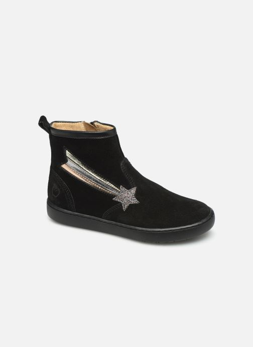 Bottines et boots Shoo Pom Play Halley Noir vue détail/paire