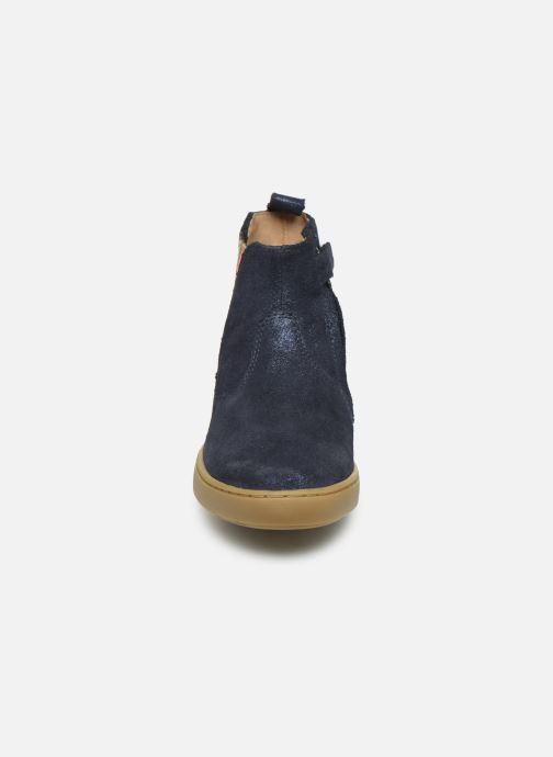 Bottines et boots Shoo Pom Play Stripes Bleu vue portées chaussures